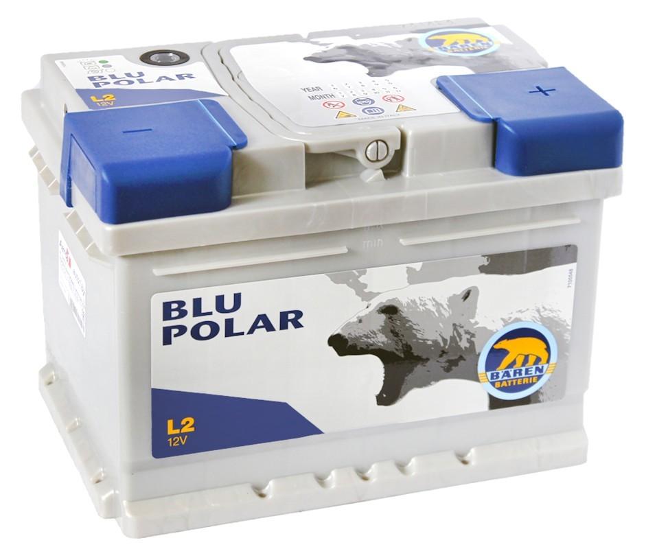 Аккумулятор BAREN BLU POLAR 74Ah 680A (278x175x190)