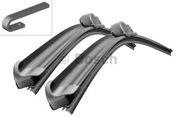 Комплект стеклоочистителей Bosch Aerotwin AR601S,  3397118907 бескаркасные для Поло седан