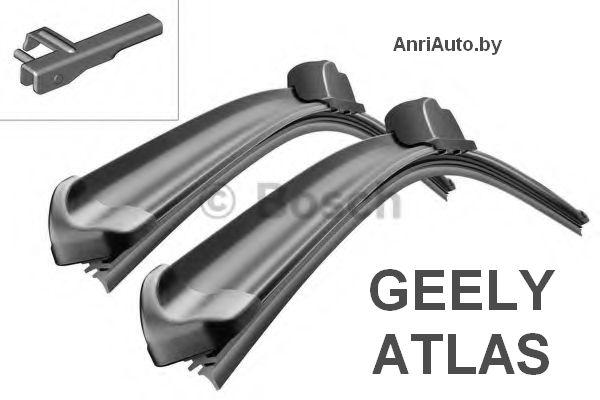 Щетки стеклоочистителя BOSCH Aerotwin  для GEELY ATLAS